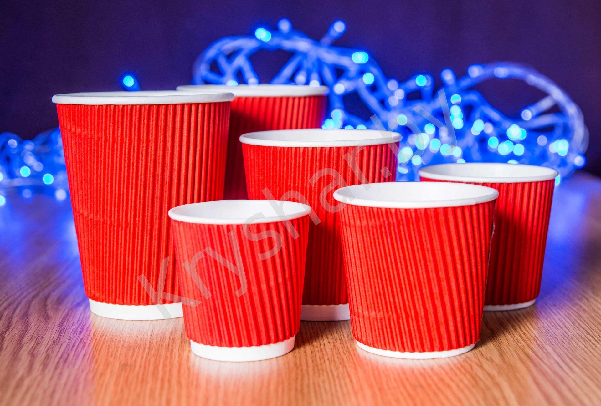 Бумажные стаканчики с логотипом в Харькове Сравнить